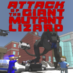 Attack of the Giant Mutant Lizard  (MOD, Unlimited Money) 1.1.2