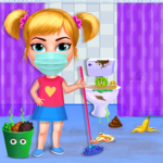 Big Home Makeover – House Cleaning Game for Girls   4.0 (MOD, Unlimited Money)