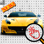 Cars Color By Number-Vehicle Pixel Art 6.0  (MOD, Unlimited Money)