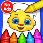 Coloring Games: Coloring Book, Painting, Glow Draw 1.1.5     (MOD, Unlimited Money)