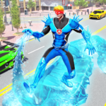 Flying Police Robot Snow Storm Hero: Crime City 11.0.0   (MOD, Unlimited Money)