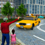 New Taxi Driving Games 2020 – Real Taxi Driver 3d  4  (MOD, Unlimited Money)