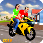 Offroad Bike Taxi Driver: Motorcycle Cab Rider  3.2.16 (MOD, Unlimited Money)