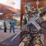 Real Commando Combat Shooter : Action Games Free  0.9  (MOD, Unlimited Money)