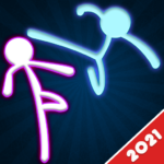 Stickman Fighting: 2 Player Funny Physics Games  1.9 (MOD, Unlimited Money)