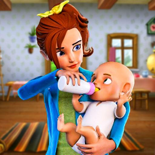 Busy Virtual Mother Simulator 2 : Family game 2.1 (MOD, Unlimited Money)