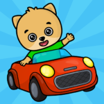 Car games for toddlers 1.9 (MOD, Unlimited Money)