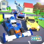 Crossy Brakes : Blocky Driver Toon Racer 1.0.6   (MOD, Unlimited Money)