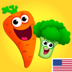 Funny Food! Educational games for kids 3 years old  (MOD, Unlimited Money)