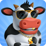 Idle Cow Clicker Games: Idle Tycoon Games Offline  3.1.2   (MOD, Unlimited Money)