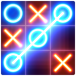 Tic Tac Toe glow – Free Puzzle Game   3.2.0 (MOD, Unlimited Money)