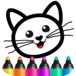 Bini Drawing for Kids! Learning Games for Toddlers  (MOD, Unlimited Money) 3.3.0.4
