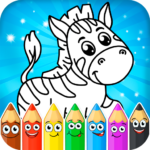 Coloring pages for children: animals 1.0.9 (MOD, Unlimited Money)