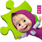 Masha and The Bear Puzzle Game 2.7 (MOD, Unlimited Money)