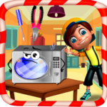 Microwave oven repairing  1.2   (MOD, Unlimited Money)