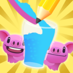 Rescue Pig: Draw Lines – Brain Games 3.2 (MOD, Unlimited Money)