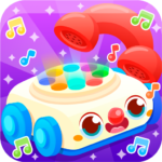 Baby Carphone Toy Kids game | games for kids  (MOD, Unlimited Money) v4.3