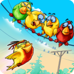 Birds On A Wire: Free Match 3  (MOD, Unlimited Money)2.0.28