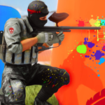 PaintBall Shooting Arena3D : Army StrikeTraining  (MOD, Unlimited Money) v1.5.7