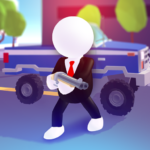 Rage Road – Car Shooting Game  (MOD, Unlimited Money)