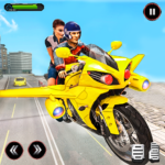Real Flying Bike Taxi Sim 2021 4.9 (MOD, Unlimited Money)