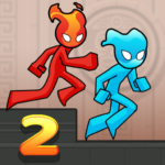 Fire and Water Stickman 2 : The Temple  (MOD, Unlimited Money) v0.3.2