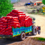Real Cargo Tractor Trolley Farming Simulation Game  (MOD, Unlimited Money) 1.0